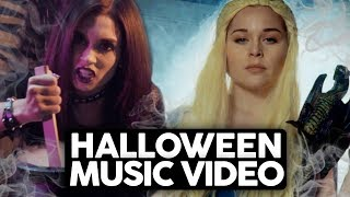 5 TYPES OF GIRLS ON HALLOWEEN (Music Video Parody)