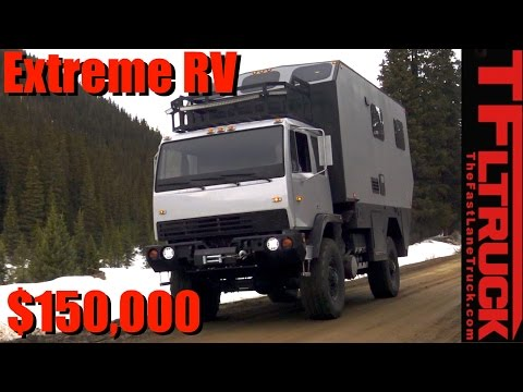 Military 4x4 RV: Everything You Ever Wanted to Know and Rocky Mountain Rescue