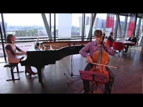 Laura de Lange & Joachim Eijlander - Samuel de Lange jr/ Sonate nr.1 opus 37: Vivo