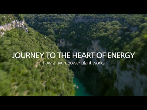 Journey to the heart of Energy - How a hydropower plant works
