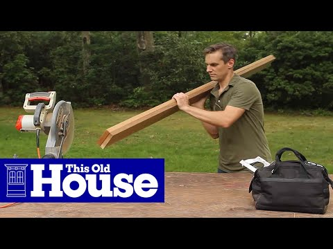 How To Build A Picnic Table And Benches   This Old House   YouTube
