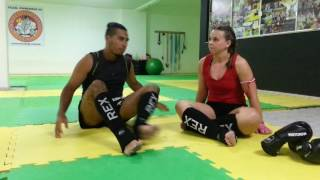 Experiência do Usuário - Caneleira Muay Thai