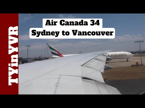 Trip Report Air Canada 34 Sydney To Vancouver B772 (SYD To YVR)