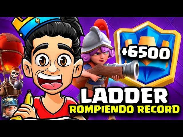 LADDER RUMBO A 7000 COPAS! SIMIODECK + PROS TOP 10 MUNDIAL CLASH ROYALE