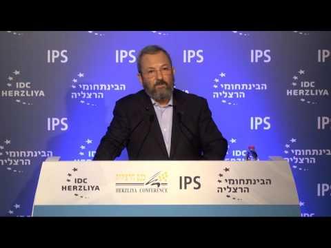 "Ehud Barak - Herzliya Conference - 2016 רא""ל (במיל') וראש הממשלה לשעבר אהוד ברק בכנס הרצליה"