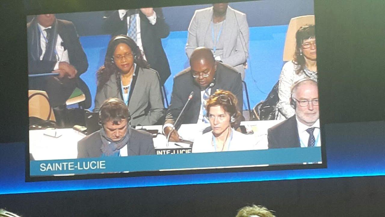 Minister Hon James Fletcher's Address to Closing Plenary of COP21