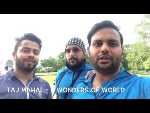 My First Moto Vlog (Agra Taj Mahal)