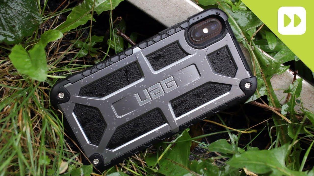 Carbon Fiber Iphone Case >> UAG Monarch Series iPhone X Tough Case Review - YouTube