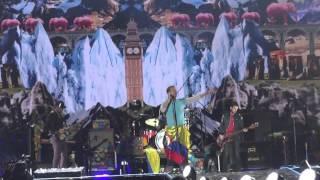 AMAZING DAY - A SKY FULL OF STARS Coldplay Tour A Head Full Of Dream Bogota 2016 HD