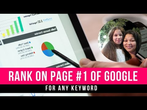 Google Ranking| Rank On The First Page Of Google For Any Keyword
