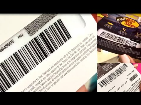 Gift Card Scammers Target PIN Numbers