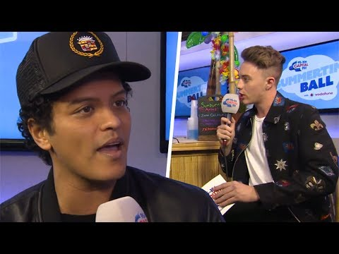 Bruno Mars Interview - Capital FM Summertime Ball