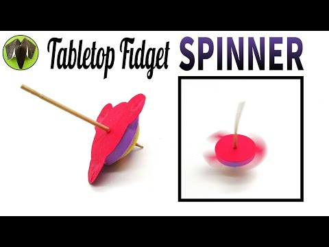 Unique Tabletop Fidget Spinner  - DIY Toy Tutorial by Paper Folds - 729