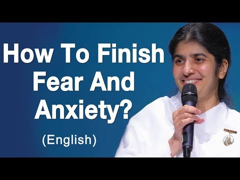 How To Finish Fear And Anxiety?: BK Shivani at Adelaide