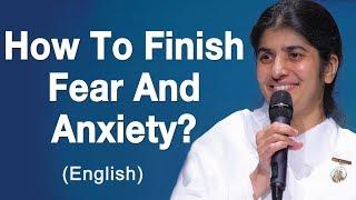 كيفية إنهاء الخوف والقلق؟: BK شيفانى في أديليد