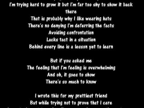 Prettiest Friend - Jason Mraz [Lyrics]