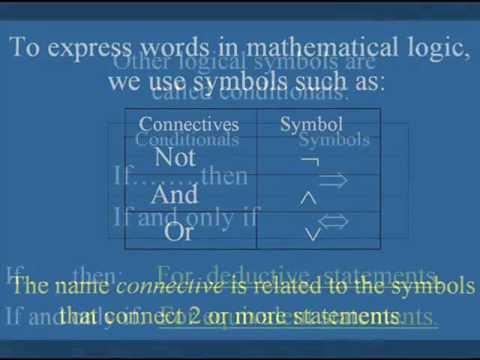 Truth Tables. Math logic/Universal Language