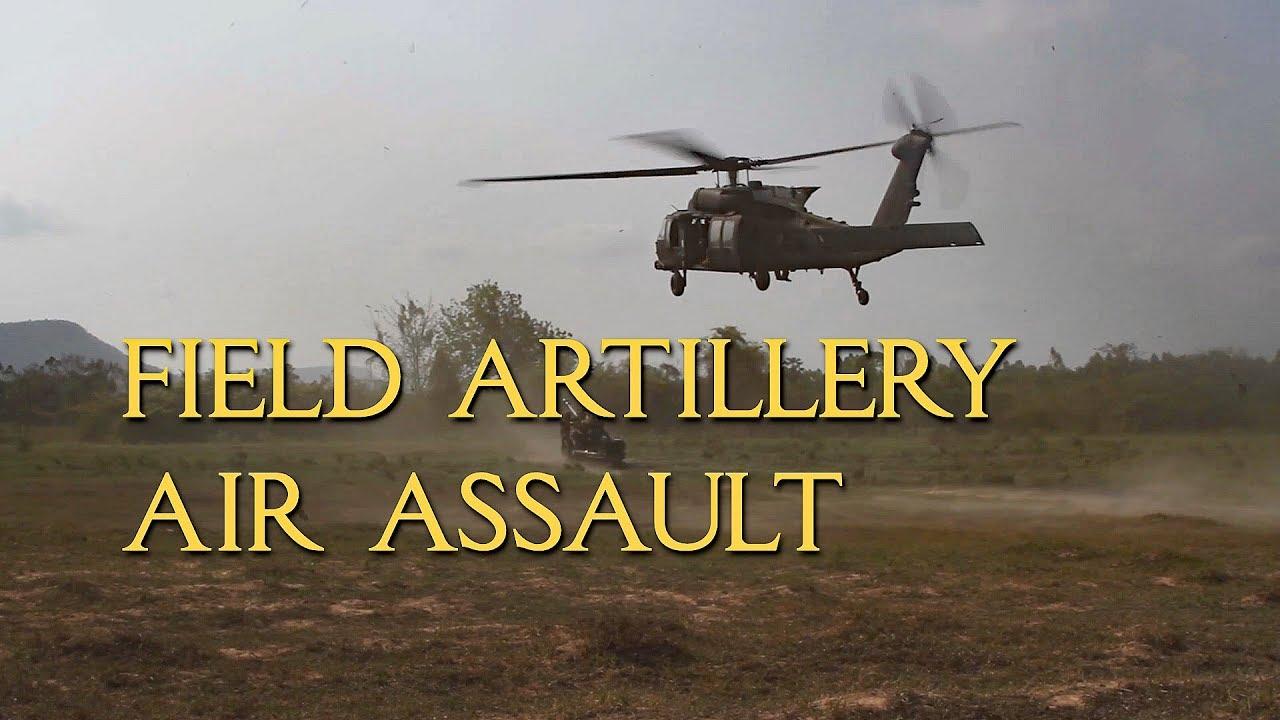 Helicopter Artillery Assault Live Fire - March 2020
