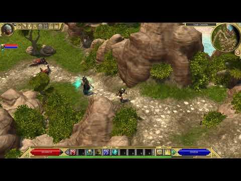 Titan Quest Anniversary Edition Atlantis LEGENDARY Part  2 Gadir Outskirts  