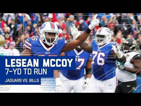 Bills Convert 4th & 1 to Set Up LeSean McCoy