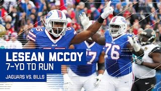 Bills Convert 4th & 1 to Set Up LeSean McCoy's TD! | Jaguars vs. Bills | NFL
