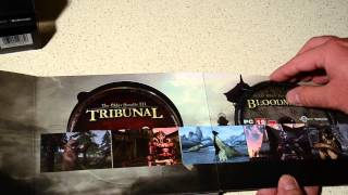 Обзор и распаковка The Elder Scrolls Anthology на PC