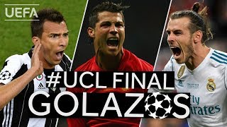 MANDŽUKIĆ, RONALDO, BALE: Great #UCL Final GOALS!!