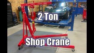 Ranger Folding Engine Hoist RSC-2TF Shop Crane Review