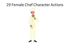125 Animated Bonus Characters Chef