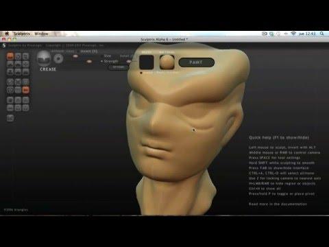 Introducción a Sculptris