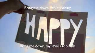Happy - Pharrell Williams (a cappella cover) with lyrics