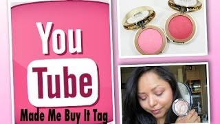 Youtube Made Me Buy It Tag!! Thumbnail