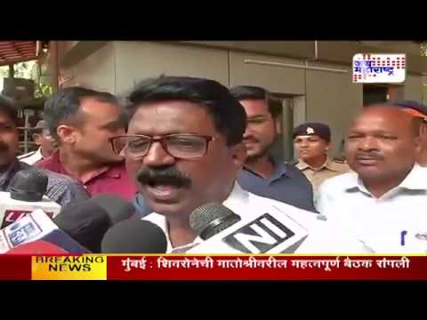 Shivsena Meeting over BJP alliance in BMC elections