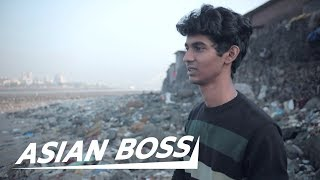 This 22 Year Old Cleaned Up 3,800 Tons of Garbage in India   ASIAN BOSS