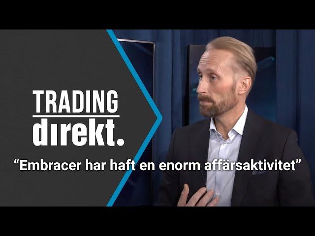 Trading Direkt 2021-01-12: Gäst: Erik Sprinchorn, TIN Fonder - Hur värderar man Embracer?