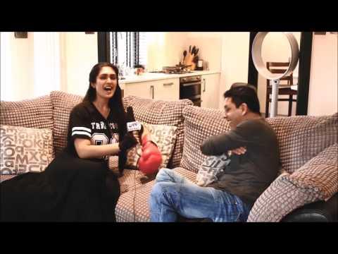 TV99Promo - Ali Jacko's Interview - Studio London - Rock Music- former Kickboxing Champio