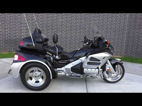 000605   2012 Honda Gold Wing Trike GL1800HPMCC   Motor Trike Conv - Used motorcycles for sale