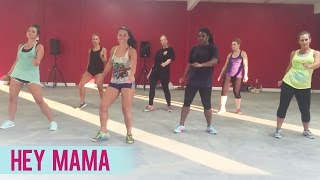 David Guetta - Hey Mama ft. Nicki Minaj, Bebe Rexha & Afrojack (Dance Fitness with Jessica)