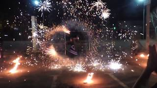 LUMOS: Безумие. Фаер-шоу (огненное шоу), Иркутск.