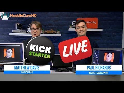 USB2AIR KickStarter Live Demo #1 - Wireless USB Extender!