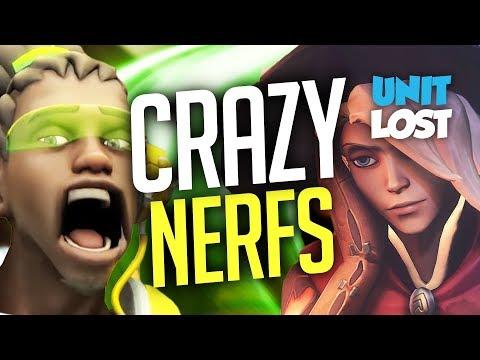 Overwatch - Mercy OVER Nerfed / Lucio NERFED WTF?!? / Genji Blade Bug