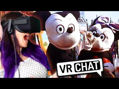 Disney World CREEPYPASTA?! | VRChat Haunted House