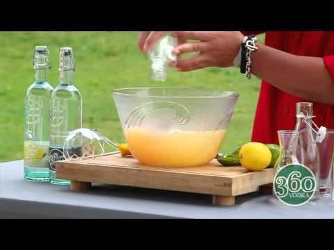 360 Vodka Presents Pucker Up Punch Bowl