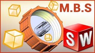 SolidWorks и 3D печать. #Резьба. Моделируем крышку канистры и печатаем на 3D принтере.