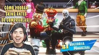 COMMENT À TRY -FREEMD A SKIN BEFORE BUYING IT Fortnite: Bataille Royale