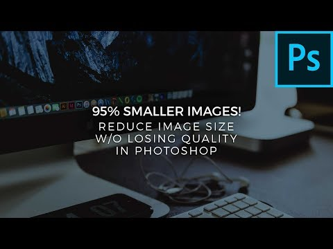 Reduce Image Size Without Losing Quality In Photoshop - How To Tutorial - Adobe Photoshop