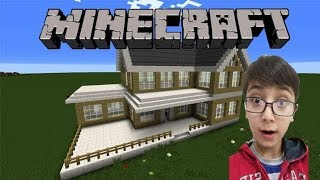 Minecraft kolay ağaç ev yapımı🌲🌲