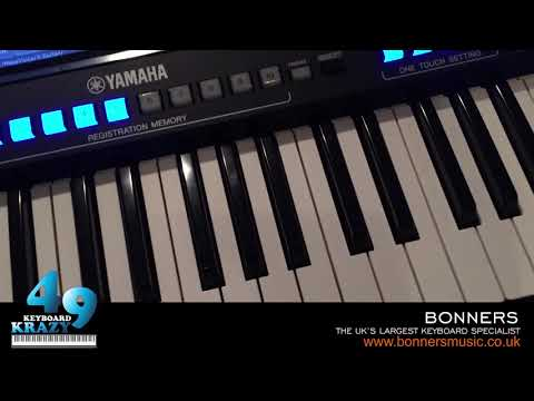 Yamaha Genos Keyboard Tutorial - Some Of The Basic & Intermediate Functions / Features