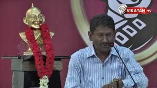 Inspiring speech from Mr.Sagayam IAS