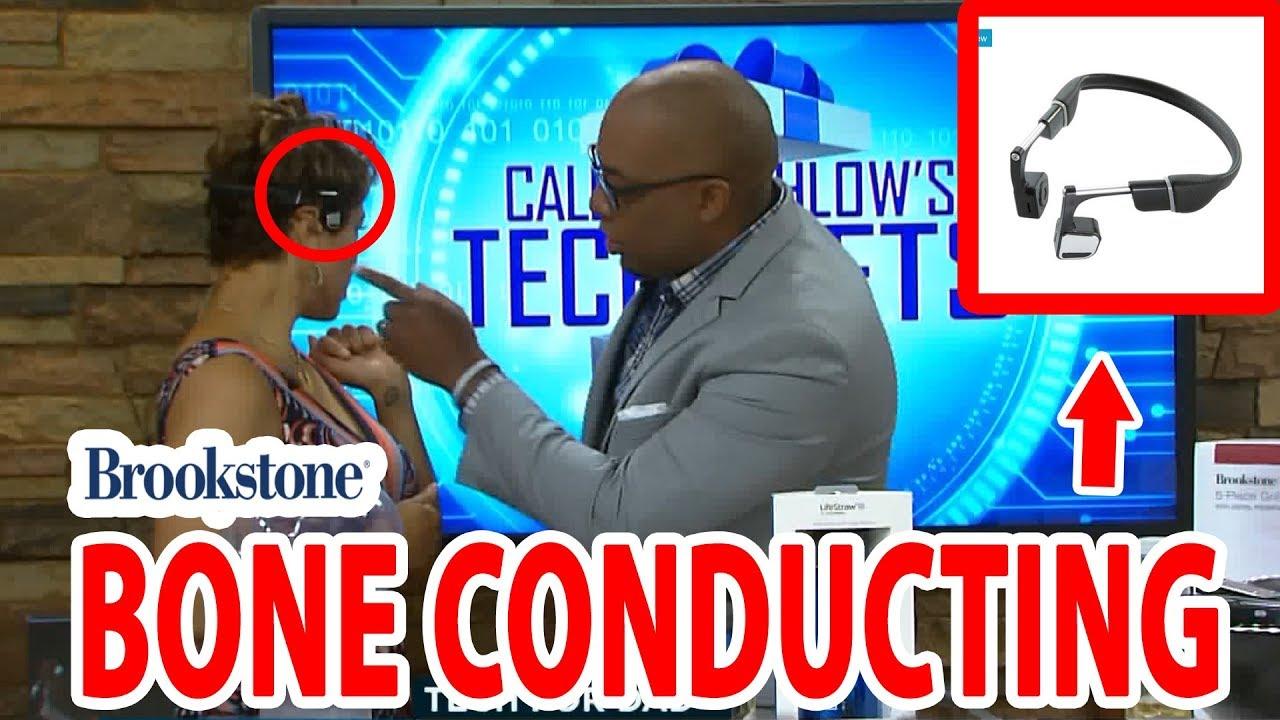 Bone Conducting Headphone Demo   Caleb Kinchlow   WTKR News 3 Coast Live